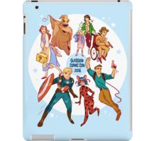 Glasgow Comic Con (Blu)  iPad Case/Skin