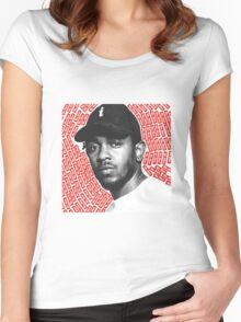 Kendrick Lamar - Ya Bish Women's Fitted Scoop T-Shirt