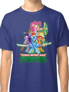 Teenage Mutant Ninja Ponies Classic T-Shirt