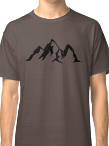 Doodle - Mountains Classic T-Shirt