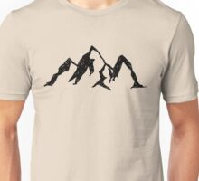Doodle - Mountains Unisex T-Shirt