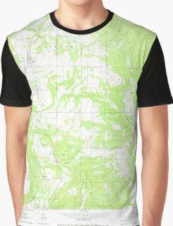 USGS TOPO Map Arkansas AR Hector 258709 1962 24000 Graphic T-Shirt