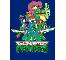 Teenage Mutant Ninja Ponies Photographic Print