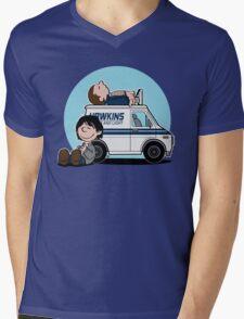 THE STRANGERNUTS Mens V-Neck T-Shirt