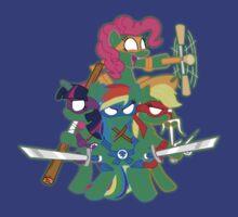 Teenage Mutant Ninja Ponies by kerakas