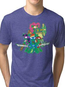 Teenage Mutant Ninja Ponies Tri-blend T-Shirt