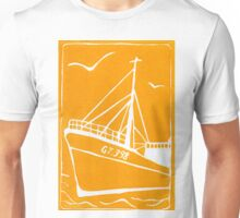 Ross Tiger in Yellow Unisex T-Shirt