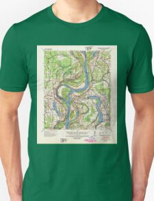 USGS TOPO Map Arkansas AR Readland 260266 1939 62500 Unisex T-Shirt