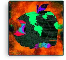 """OUR APPLE"" - Methane Planet Canvas Print"