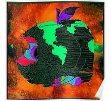 """OUR APPLE"" - Methane Planet Poster"