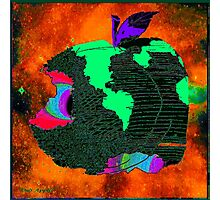 """OUR APPLE"" - Methane Planet Photographic Print"