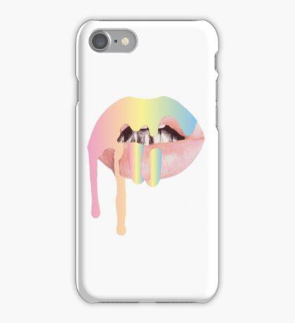Rainbow Kylie Jenner Lip Kit iPhone Case/Skin