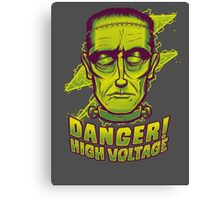 Classic Halloween: Frankenstein's Monster Canvas Print