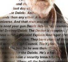 war doctor Sticker
