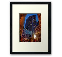 Downtown... Framed Print
