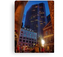Downtown... Canvas Print