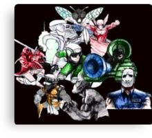 Kid Chameleon - All Transformations Canvas Print