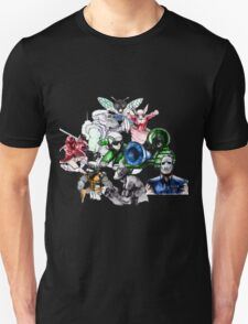 Kid Chameleon - All Transformations T-Shirt