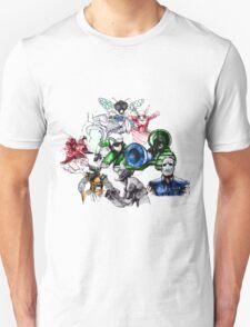 Kid Chameleon - All Transformations T-Shirt