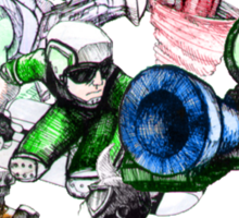 Kid Chameleon - All Transformations Sticker
