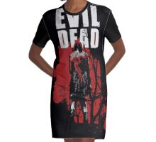 Posesion Infernal Sangrienta ( bloody hell possession) Graphic T-Shirt Dress