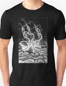 Attack of the Giant Octopus - White for Dark T-Shirt