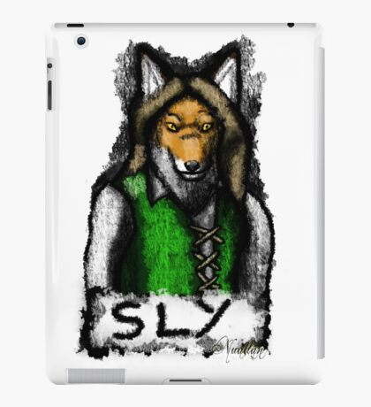 Sly Fox Painted iPad Case/Skin