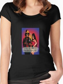 Frankenpimp (2009) - Movie Poster  Women's Fitted Scoop T-Shirt