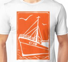 Ross Tiger in Orange Unisex T-Shirt