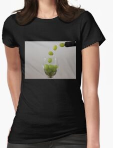 Having a Grape Party Womens Fitted T-Shirt