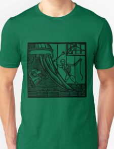 Antique Woodcut Death and Sleep T-Shirt