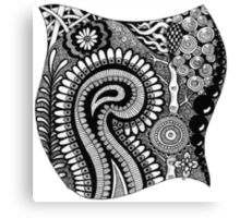 Black and White Design # 01 Canvas Print