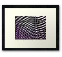 mesh Framed Print