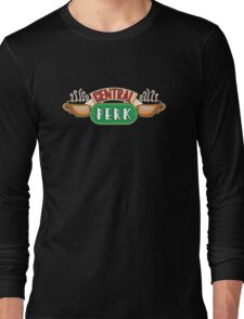 Friends - Central Perk White Outline Variant Long Sleeve T-Shirt