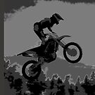 """""""The Scenic View"""" Motocross Racer  by NaturePrints"""