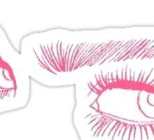 Audrey Hepburn Eyes Sticker