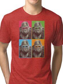 Harambe - Pop Art Tri-blend T-Shirt