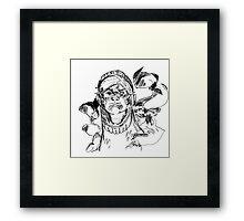 smokey knight Framed Print