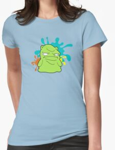 Melted Kuchi Kopi Womens Fitted T-Shirt