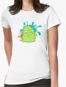 Melted Kuchi Kopi Womens Fitted T-Shirt