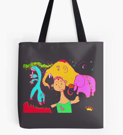 Uncle Barber and His Nomadic Travellers Tote Bag