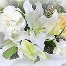 White Bouquet by Elaine Bawden