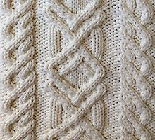 Fisherman cable knit by knititude