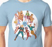 Glasgow Comic Con (Blu)  Unisex T-Shirt