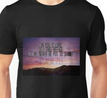 In You O Lord I take Refuge Unisex T-Shirt