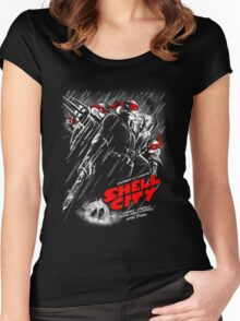 Shell City Women's Fitted Scoop T-Shirt