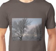 Trees After an Ice Storm Unisex T-Shirt