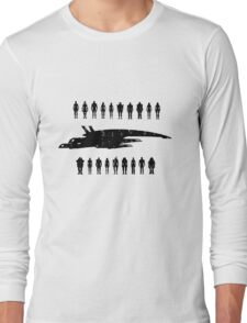 Normandy and the squad 2 Long Sleeve T-Shirt
