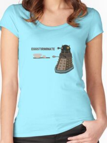 EGGSTIRMINATE Women's Fitted Scoop T-Shirt
