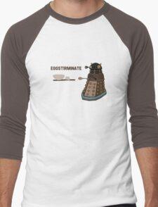 EGGSTIRMINATE Men's Baseball ¾ T-Shirt